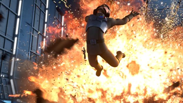 roleo mandaloriano Explosion
