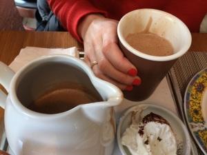 El mejor Hot Chocolate de Chicago. Venirse todos de visita que os invito a uno